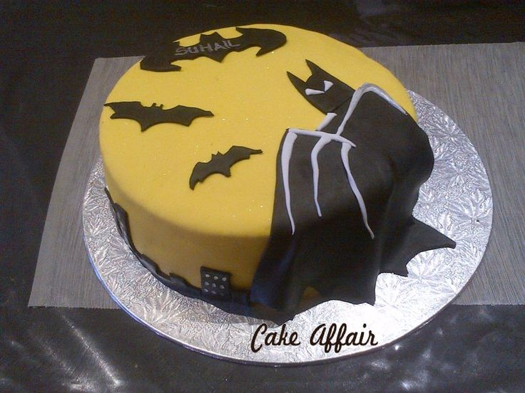 Batman Images For Birthday Cakes