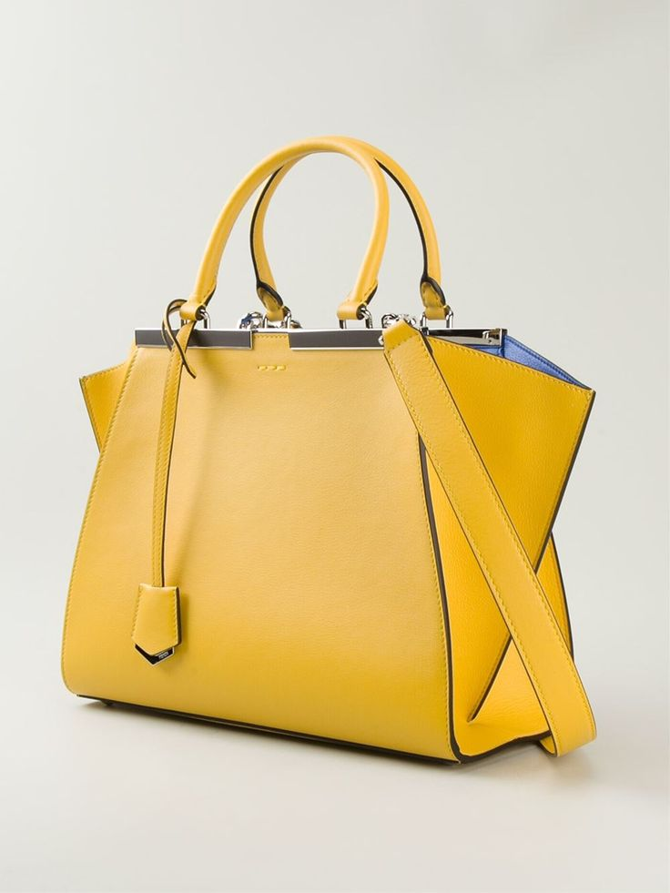 #fendi #bags #3jours #tote #new #yellow #blue #womensfashion www.jofre.eu