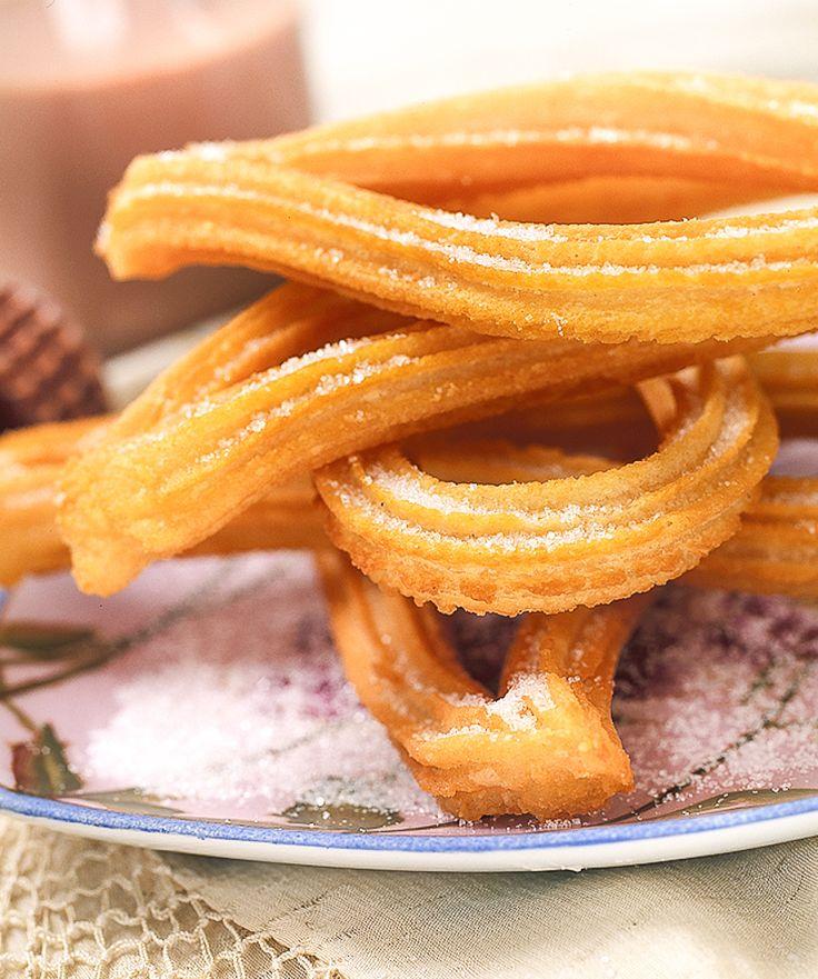 Los churros, esenciales en el recetario español