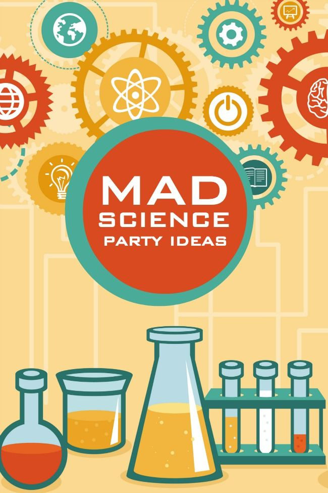 Great party ideas for a Mad Science birthday!