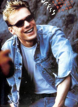 U2 -Larry Mullen -Juillet 1992