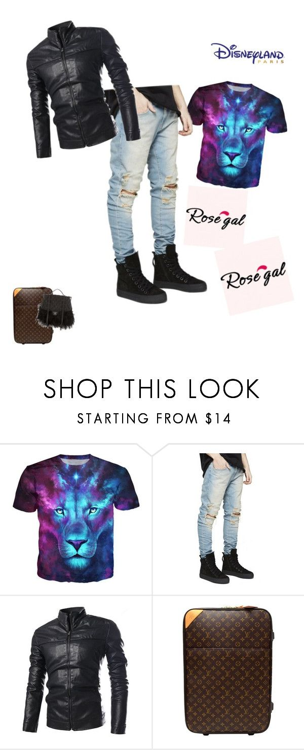 """Men's T-shirt"" by malter-dlii ❤ liked on Polyvore featuring Louis Vuitton and Chanel"