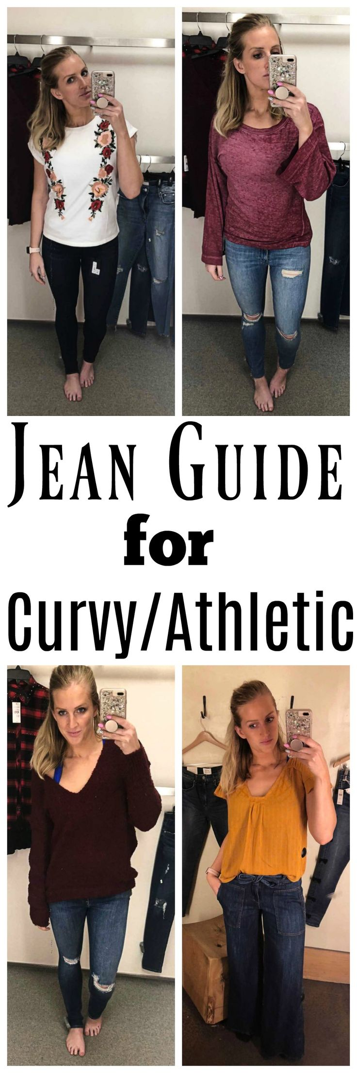 Jean Guide: The Best Jeans for Curvy Women
