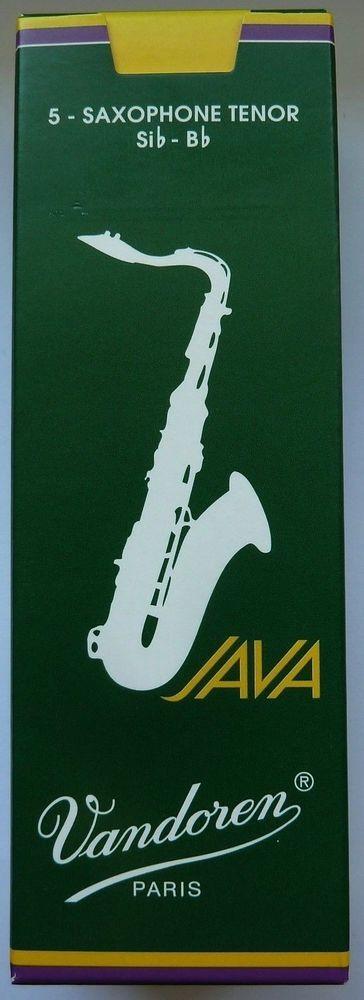 5 Blätter 5 Reeds für Tenor-Saxophon, Vandoren – Paris, JAVA, Stärke 2.