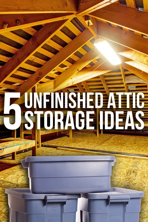 organize your attic fast with these clever storage ideas on new garage organization ideas on a budget a little imagination id=89905