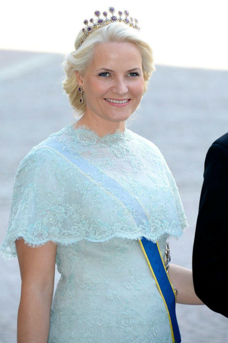 Mette-Marit of Norway at the wedding of Princess Madeleine and Chris O'Neill, 8 June 2013
