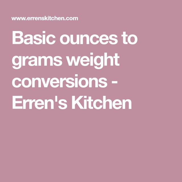The  Best Weight Conversion Chart Ideas On
