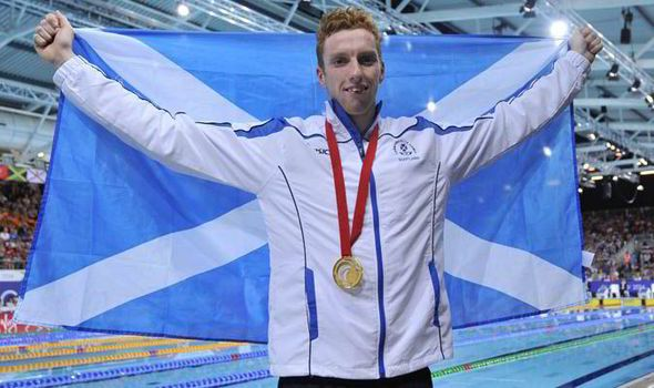 Swim star Dan Wallace became Scotland's 2014 Commonwealth Games hero by winning the 400m. Individual medley and shouting 'For Freedom', inspired by 'Braveheart'
