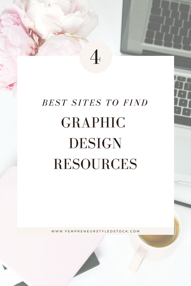 The best sites for finding Graphic Design Resources http://fempreneurstyledstocklibrary.com/best-graphic-design-resources/