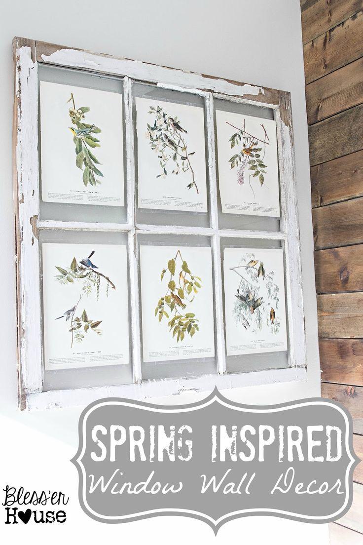 Best 25+ Window wall decor ideas on Pinterest | Rustic ...