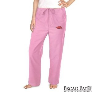 University of Arkansas Pink Scrubs Pants DRAWSTRING BOTTOMS Arkansas Razorbacks For HER - DRAWSTRING Waist -Officially Licensed NCAA College Logo Apparel Unique GIFT Ideas For Mom Nurses Ladies Students Graduation (Apparel)  http://documentaries.me.uk/other.php?p=B004DALOVC  B004DALOVC