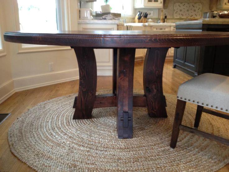 Best 25 Round Farmhouse Table ideas on Pinterest