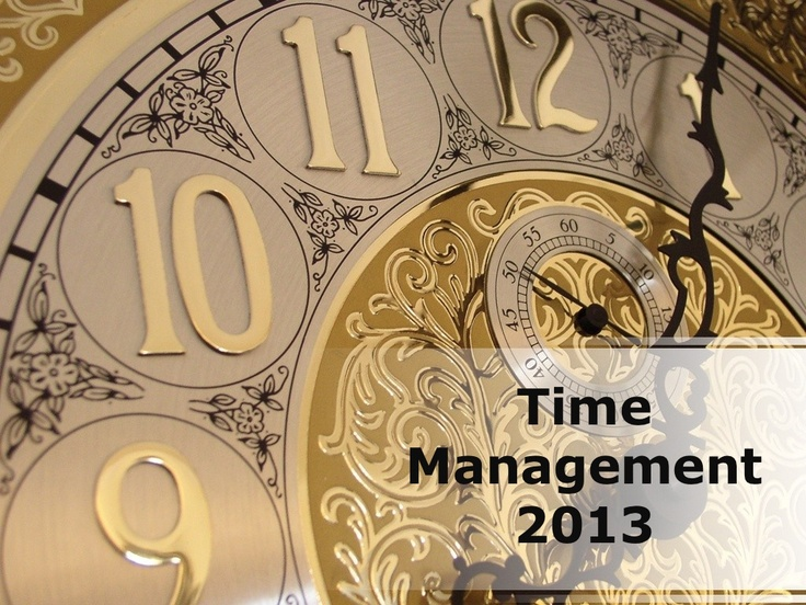 time-management-powerpoint-ppt-content-modern-sample by Andrew Schwartz via Slideshare