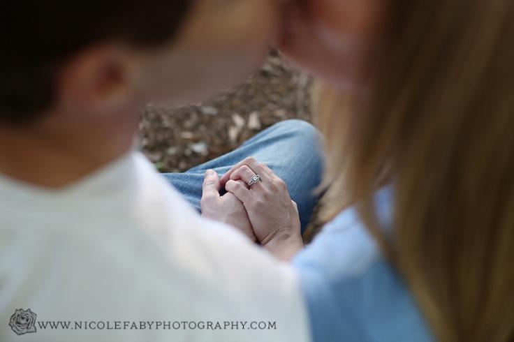 engagement pose  engagement ring photo    www.nicolefabyphotography.com    Nicole Faby Photography » North Carolina Children, Family, and Wedding Photographer » page 2