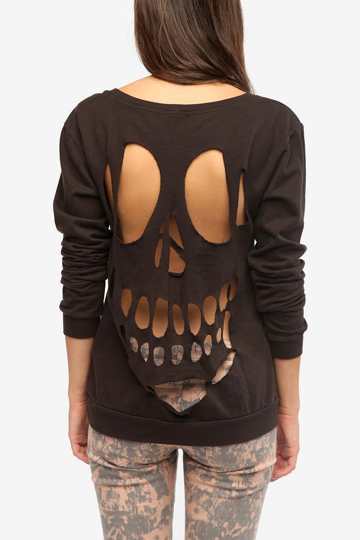 Truly Madly Deeply Cutout Sweatshirt #urbanoutfitters # ...