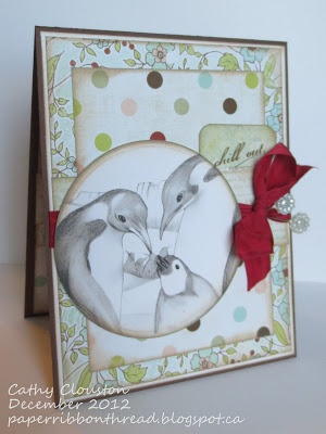 Paper, Ribbon, and Thread: Craft Your Passion #141 Recipe!  (December 2012)