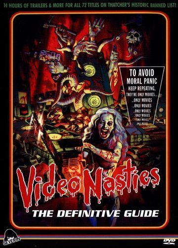 Video Nasties: Moral Panic, Censorship & Videotape [3 Discs] [DVD] [2010]