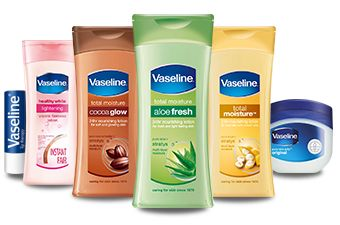 Vaseline skin care products helps heal dry skin by tripling its moisture level. Discover Vaseline products lines including Lip therapy, aloe fresh, total moisture & more only at Vaseline's official website.  http://www.vaseline.in