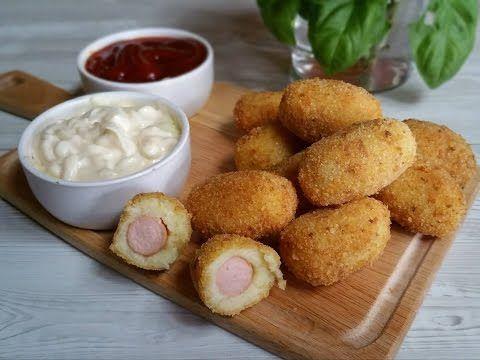 Polpette di patate: più semplici delle crocchette di patate - antipasti (meatballs potatoes) - YouTube