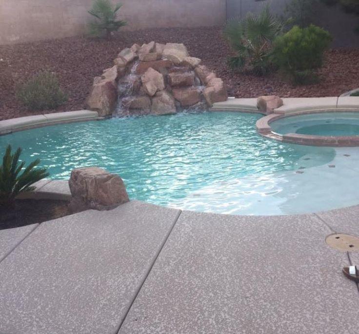 Pool in Vegas with Rock pool