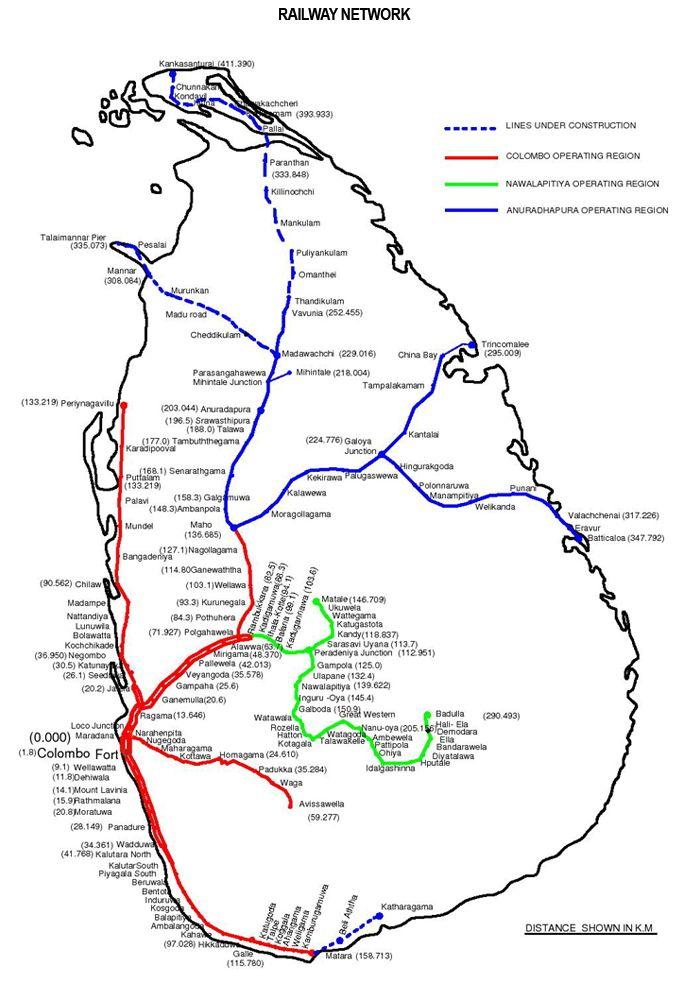 carte trains railways sri lanka