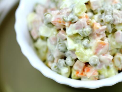 salade russe venue d'Espagne (ensaladilla russa) - Recette de cuisine Marmiton : une recette