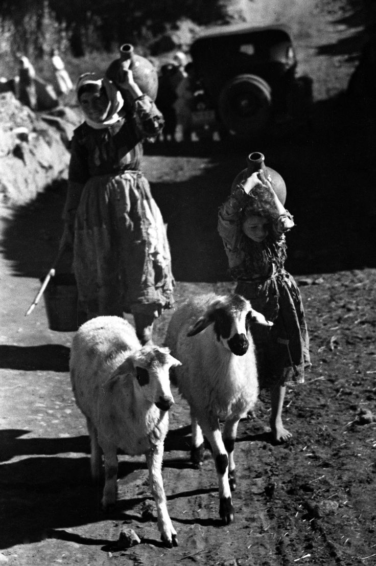 In old mountain Armenia, 1938. Rural location, Armenia