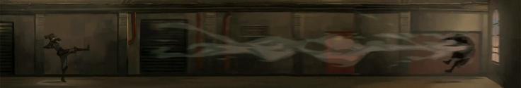 Korra airbending Amon, Legend of Korra.