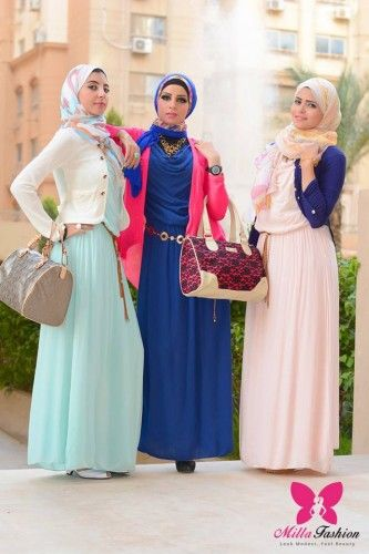 Hijab looks by Milla fashion | Just Trendy Girls