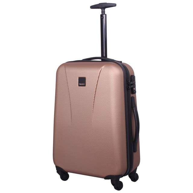 Lite 4W Cabin 4 wheel Suitcase 55cm ROSE GOLD