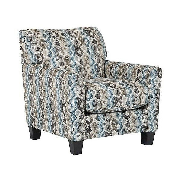 nalini accent chair 630 liked on polyvore featuring home furniture chairs