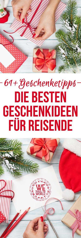 Tolle Geschenkideen für Reisende und Weltenbummler! Die ultimative Geschenkeliste mit mehr als 61 Geschenktipps für Weihnachten oder zum Geburtstag von Vielreisenden. #geschenkidee #geschenktipp #weihnachtsgeschenk #geschenkereise Bilder: Shutterstock – https://shutr.bz/2hVV56t, https://shutr.bz/2B3Gutv