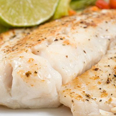 Ocean Perch (Redfish) Fillets in Orange Butter Sauce