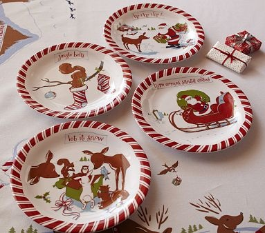463 best Christmas Dish Collection images on Pinterest | Pottery ...