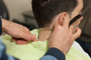 Keeping your neck cleaned up is an important part in grooming! The Boardroom Salon offers neck trim services. Looking to get your neck cleaned up, with your hair cut? neck trims are included in our haircut services.