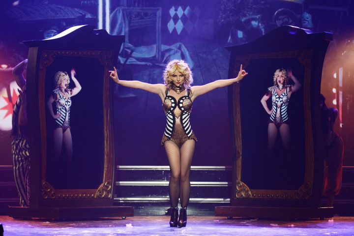 Britney Spears forgot to lip sync during her Las Vegas show.