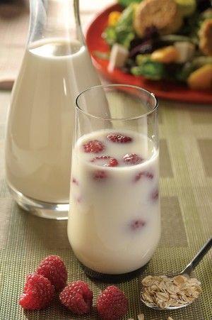 Agua de avena con moras Una deliciosa combinación, te sorprenderá su sabor.