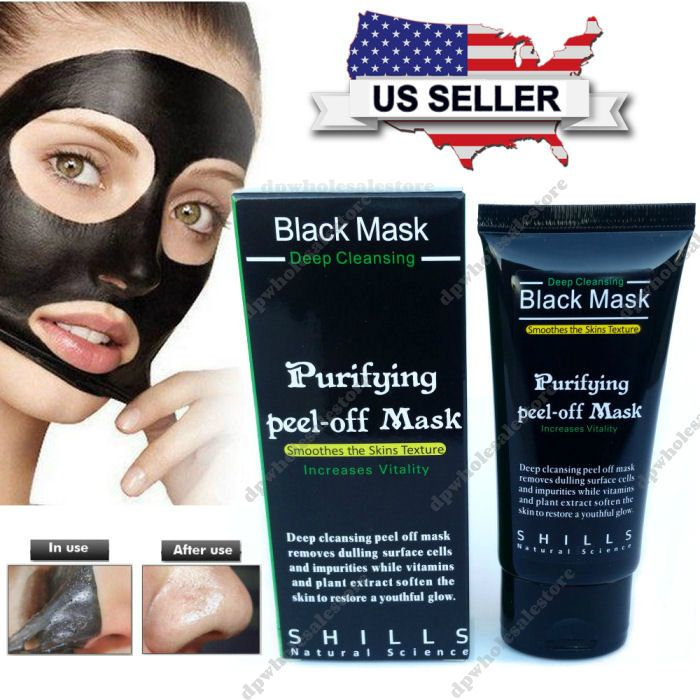 Shills Deep Cleansing Black Mask purifying peel-off mask Facial Clean Blackhead Item Description Trusted U.S. Seller. Fast and Free shipping. Includes... #mask #blackhead #remover #charcoal #cleansing #facial #black #peel #purifying