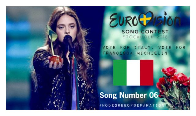 """""""Eurovision 2016 - Vote for Italy 06"""" by hangar-knjiga ❤ liked on Polyvore featuring art, eurovision and NoDegreeOfSeparation"""