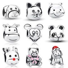 Sterling Silver 925 Exquisite Animal Charm - Fine or Fashion: FashionItem Type: CharmsStyle: TrendyMaterial: Cubic ZirconiaMetals Type: SilverCharms Type: AnimalsOccasion: Anniversary, Engagement, Gift,Party,WeddingBeads Hole: about 4mm925 Sterling Silver