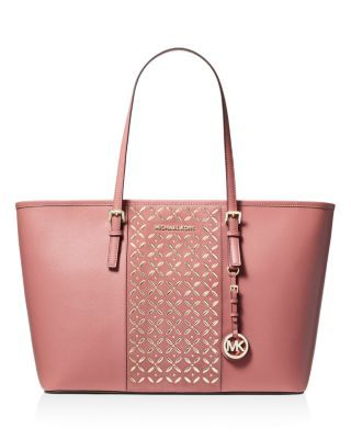 928cc64591b9 MICHAEL Michael Kors Voyager Large Hotfix Leather Tote | Bloomingdale's