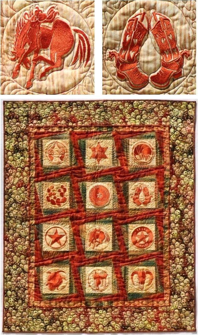 1000+ images about Western and cowboy quilts on Pinterest