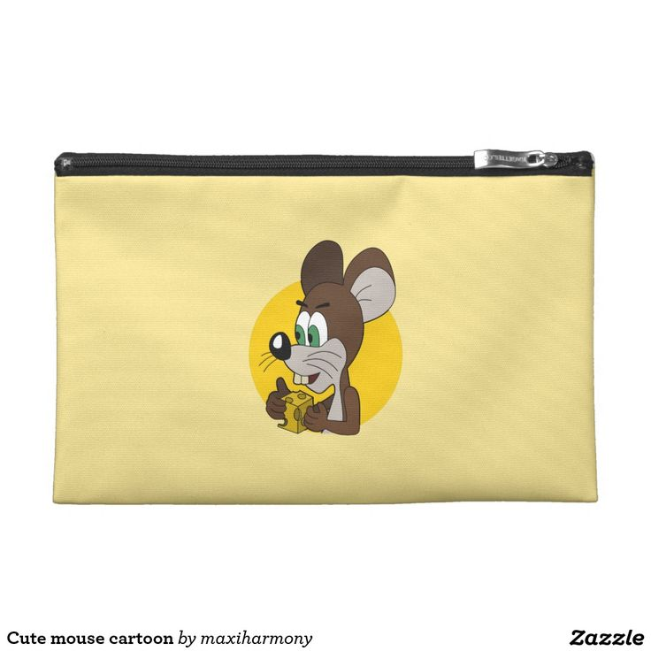 Cute mouse cartoon travel accessories bag