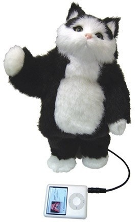 Adorable dancing cat! It will dance along to your music! Comes with an orange tabby or tuxedo cat. Great choice for kids and cat lovers.    **No animal fur been used or tested in this product.**    Dancing Cat Speaker $69.9 (AUD) | FREE Delivery | Red Wrappings