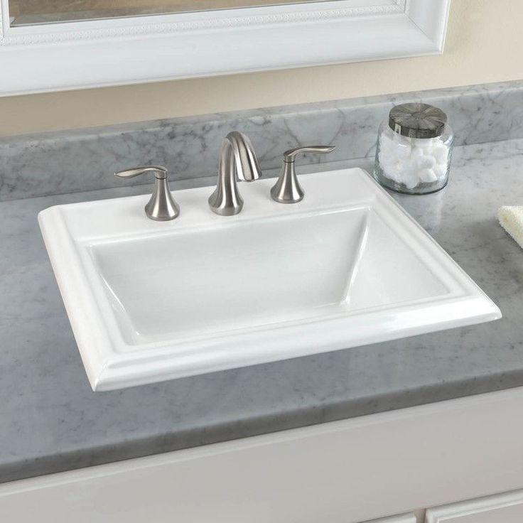 drop in bathroom sinks. Buy American Standard Town Square Drop In Bathroom Sink for Widespread  Faucet Best 25 in bathroom sinks ideas on Pinterest Shower bath