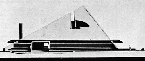 Romaldo Giurgola, National Park Headquarters, Mt. Desert Island, Maine, 1965