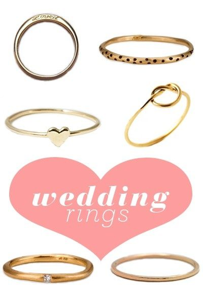 simple wedding rings b-ball