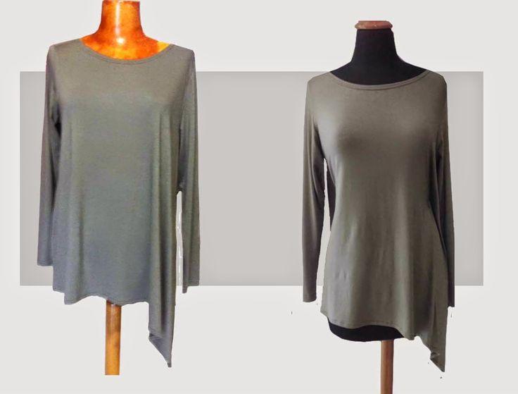 Easy blouse - viscose lycra