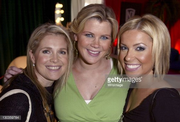Melissa Reeves, Alison Sweeney and Farah Fath at CITY Cosmetics, CITY Lips, CITY Face