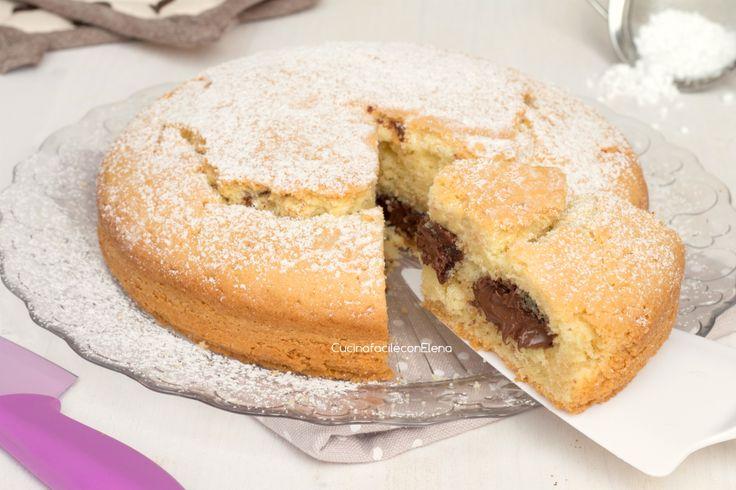 torta con la nutella che non affonda